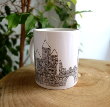 Mug_cite_de_Carcassonne_editionsItinerrances_CePresentEstPourToi